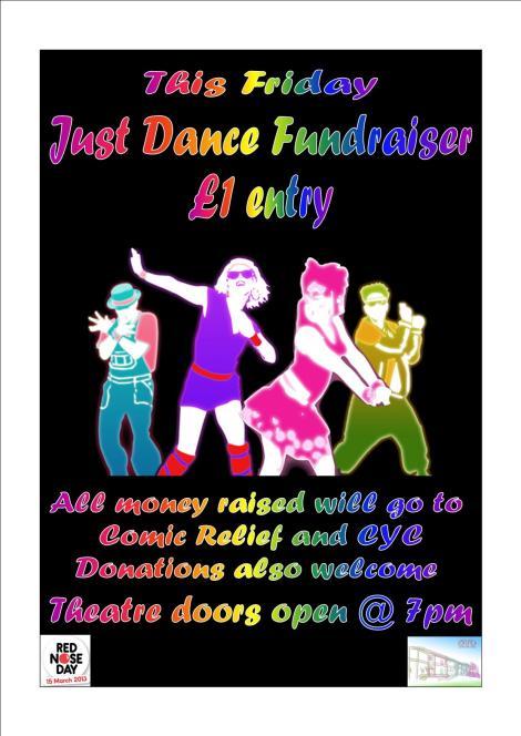 just dance fundraiser