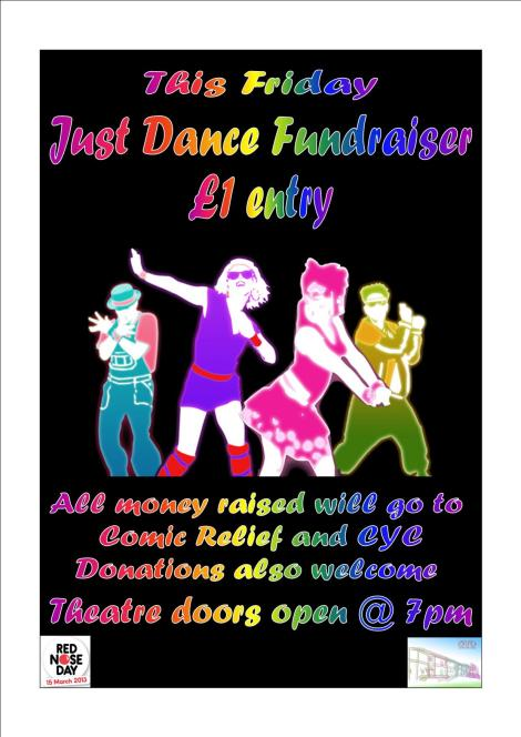 just dance fundraiser