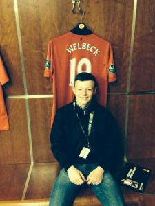 Dean at Old Trafford