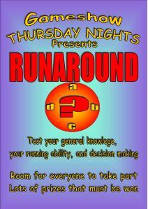 runaround poster